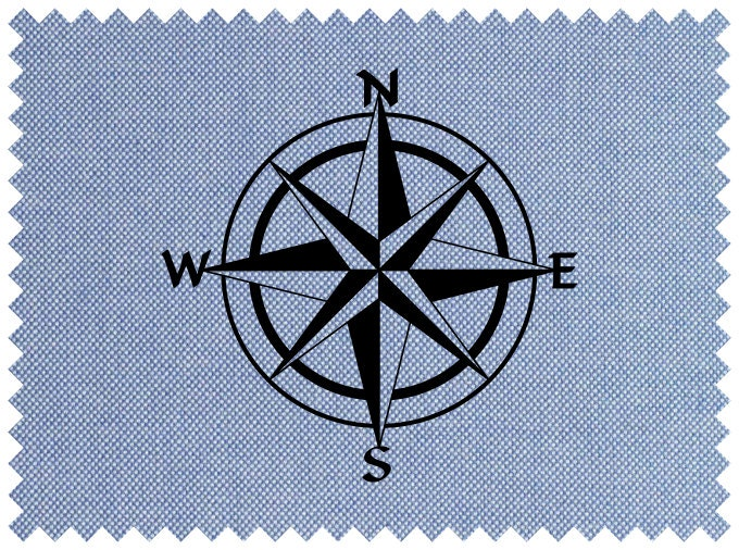 Légend image inside printable compass rose
