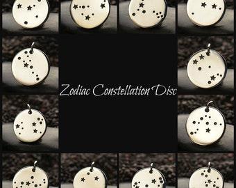 Zodiac Constellation Discs