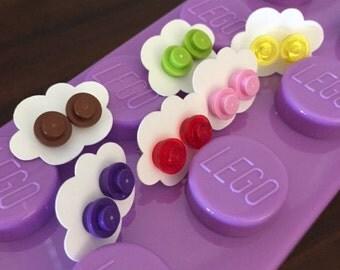Lego Stud Earring Favors
