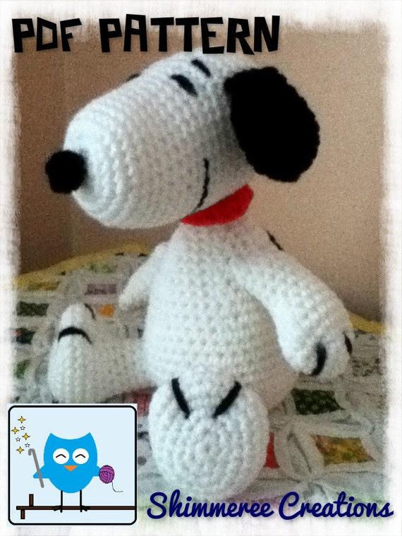 Crochet Amigurumi Peanuts Inspired Snoopy by ...