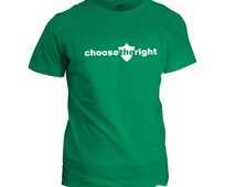 Choose the Right Missionary Shirt. CTR shirt from LDS Primary. Better than a CTR ring! For Primary teachers, bishops, elders, and Seminary.