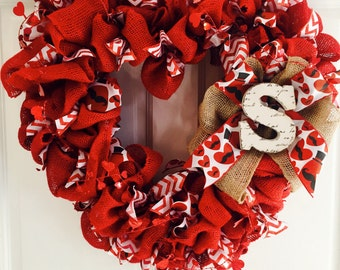 Happy Valentine's Wreath