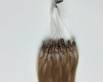 Human Hair Extensions Micro Loop - Straight
