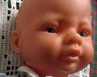"""Berenguer baby  doll clothed 11"""" caucasian"""