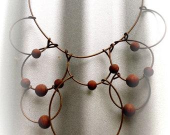 70's Orbit Necklace