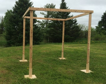 Cedar Wedding Chuppah