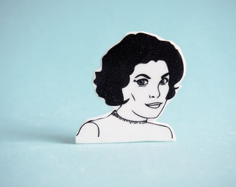 Audrey Horne Pin - Twin Peaks Jewelry - David Lynch
