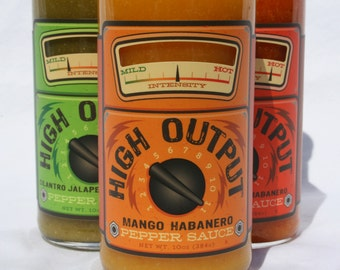Mango Habanero Pepper Sauce