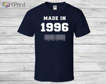 19th Birthday, 19th Birthday t shirt Gift, 19th Birthday Idea,1996, 19th,19th Birthday Present for 1996, limited edition made in1996,19th,19