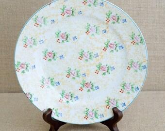 Vintage Trico Plates - Nagoya Japan - Handpainted