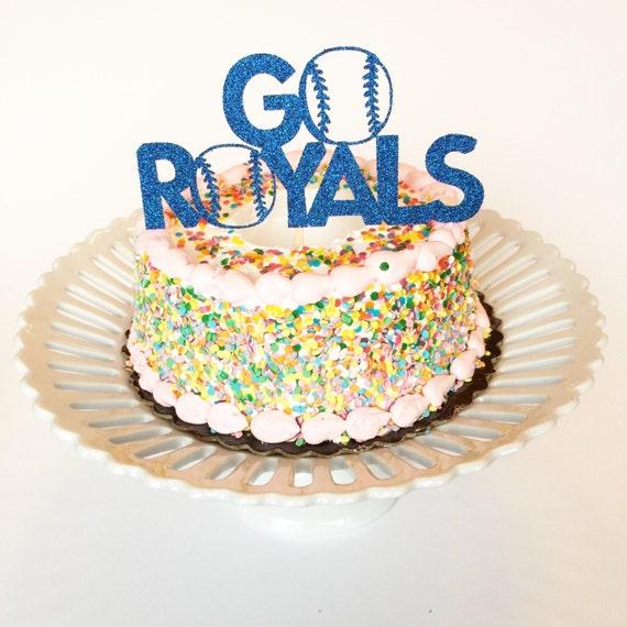 Items Similar To Kansas City Royals Cake Topper. KC