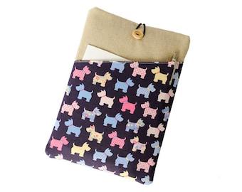 Cute dog Kindle case,Kindle paperwhite case, Kindle sleeve, Nook case, Kindle Voyage case, Kindle Fire case, Kobo Aura case,Dog Kobo cover