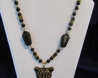 Black Panther necklace set