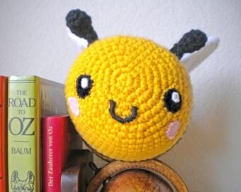 Crochet Jumbo Bumblebee Stuffed Animal