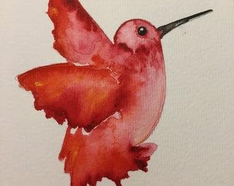 Bird Watercolor Painting