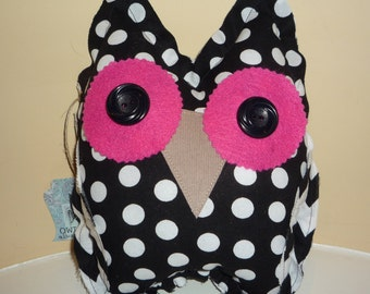 Sale was 20.00 Felicia Owl Decorative Pillow/Cuddly/Toy
