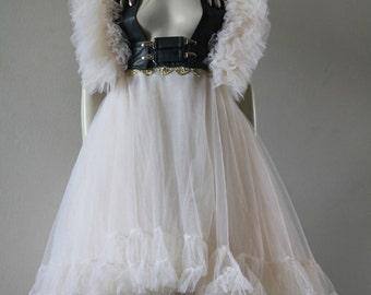 Tutu Petticoat Steampunk Wedding Tulle Tutu Ballet Skirt Bridal CHRISST