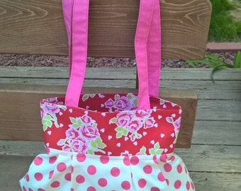 English Roses Project Bag
