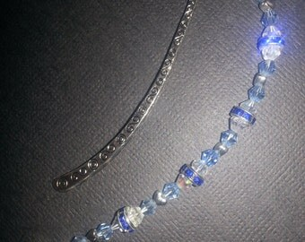 "Handmade Crystal ""Thank You"" Bookmark"