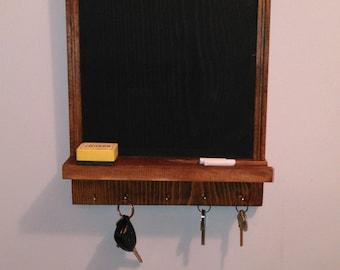 Wall Organizer-Chalk Board/Keys Holder