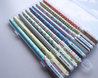 Pack of 10 Cute Colorful Adorable Gel Pen Set for Journaling, Scrapbooking or Planning!