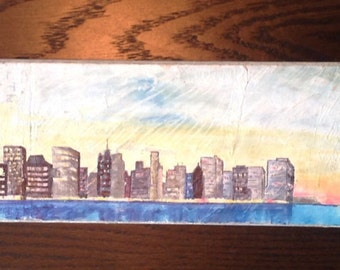 New York Skyline on Paddle