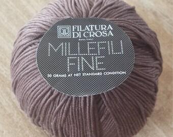 Millefili Fine by Filatura Di Crosa  Brown Color 106
