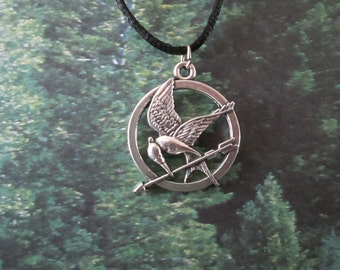 Mockingjay Pendant Necklace
