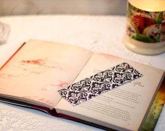 Damask Bookmark