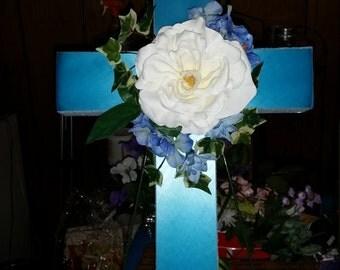 "Small Custom Cemetery Cross 18 """
