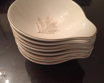 Edwin Knowles China set of 8 bowls