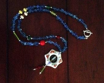 Asian Blue - handmade!