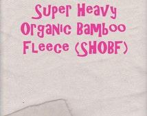 Super Heavy Organic Bamboo Fleece 600GSM