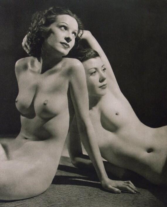 Nudist Paitings 1930 s
