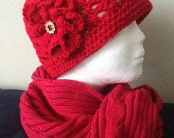 SCARLET…Crocheted Women's Hat