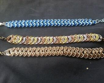 Custom-made Vertebrae Chainmail Bracelet