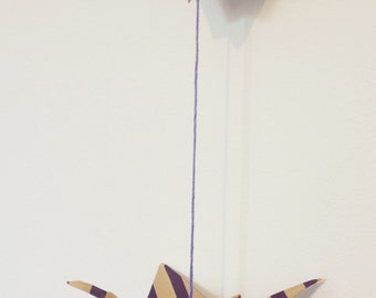 Hanging Origami Cranes Decoration