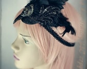 Mr. Raven Gothic Headpiece