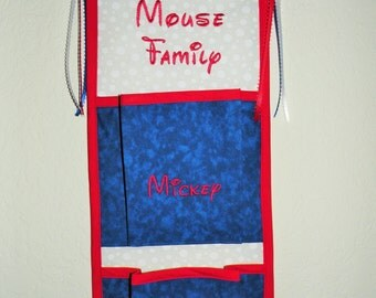1, 2, 3, 4 or 5 Pocket Sailor Theme Fish Extender for Disney Cruise - Custom Made