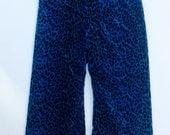 Velvet Animal Print Pant - Size 2 (2T)