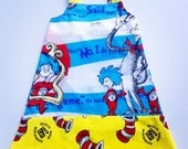 Cat In The Hat Recycled Fabric Dress - Size 4