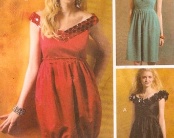 Bridesmaid dress pattern Spring summer Style sewing pattern McCalls 5749 Crafty Bust 36 to 42 UNCUT