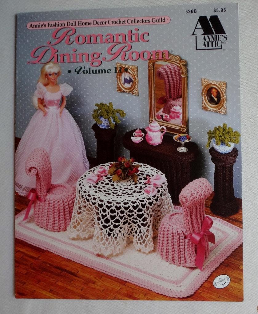 Vintage crochet book annie 39 s fashion barbie doll romantic - Crochet mural vintage ...