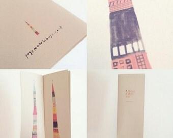 Limited Edition Art Zine - A Catalogue of Rocket Ships