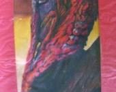 Verkauf original Kunst-Farbe-Bleistift Zeichnung 8 x 10 Türkei