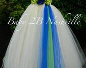 Ivory Dress Tulle Dress C...