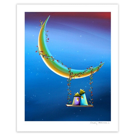 House Series Limited Edition - Another Moonlight Serenade - Signed 8x10 Semi Gloss Print (8/20)