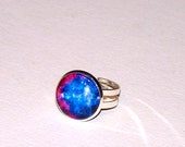 brightly colored nebula ring