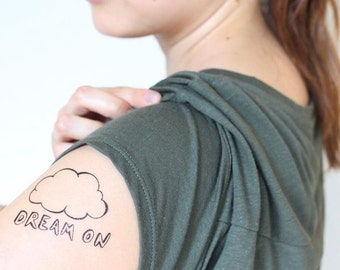 Dream On Temporary Tattoo by Nani Puspasari