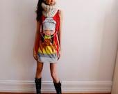 Frida Dress - Oh Deer Frida - Dress - Frida Khalo - Red